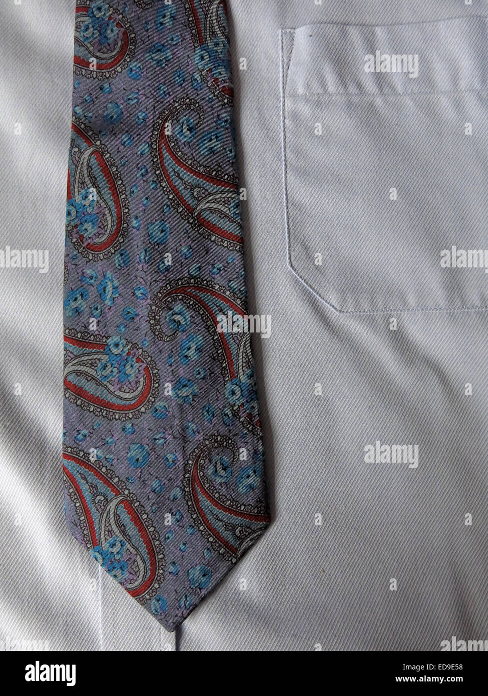 Paisley Tie High Resolution Stock Photography And Images Alamy