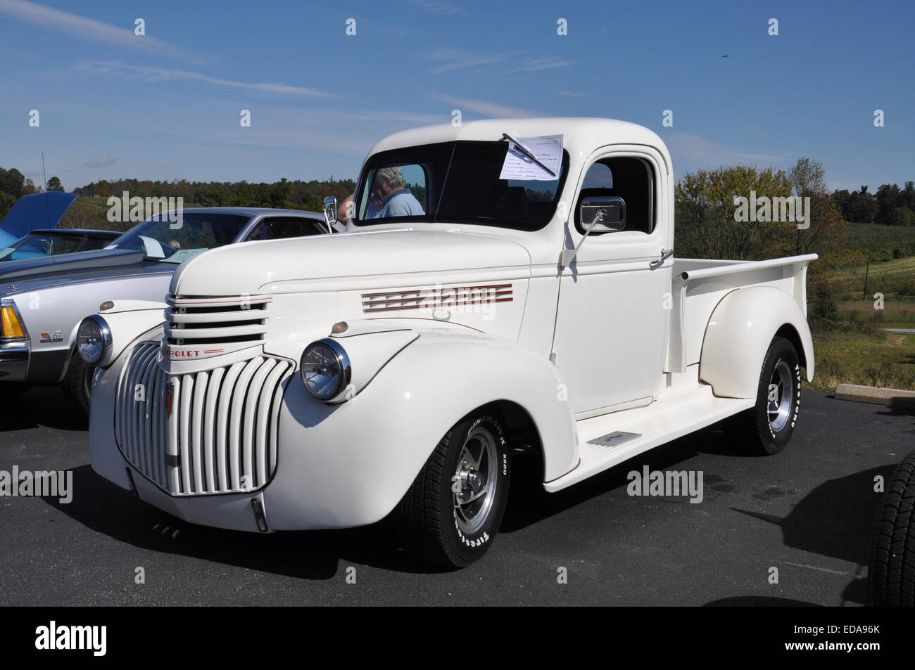 A 1946 Chevrolet Pickup Truck. Stock Photo