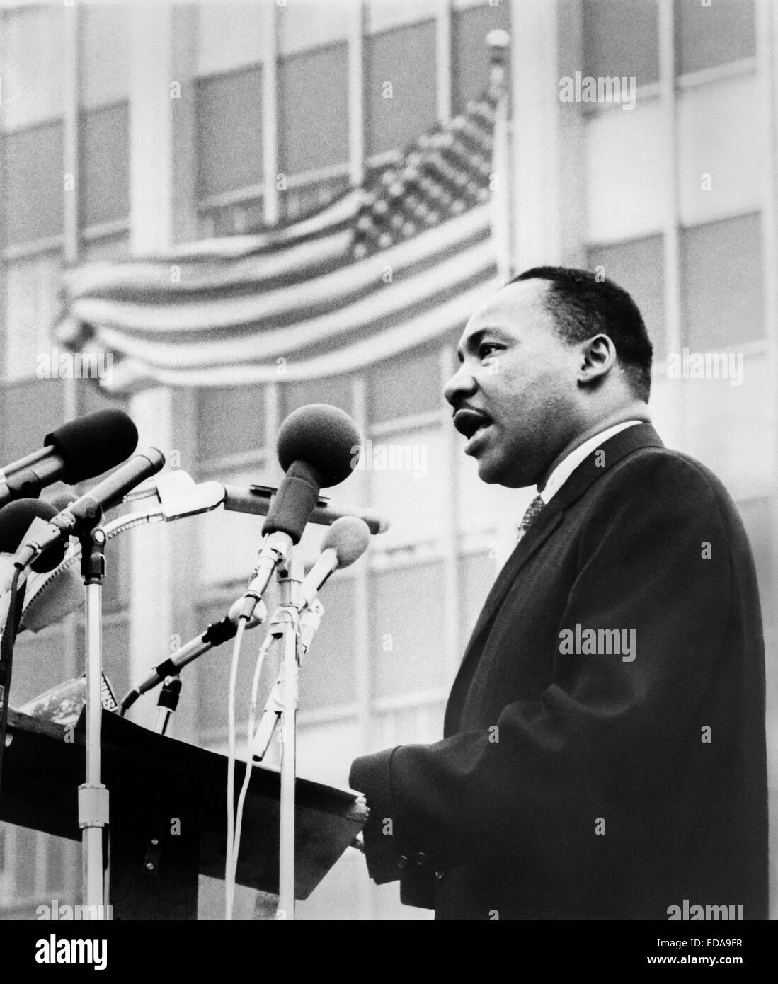 Martin Luther King, Jr. - Stock Image