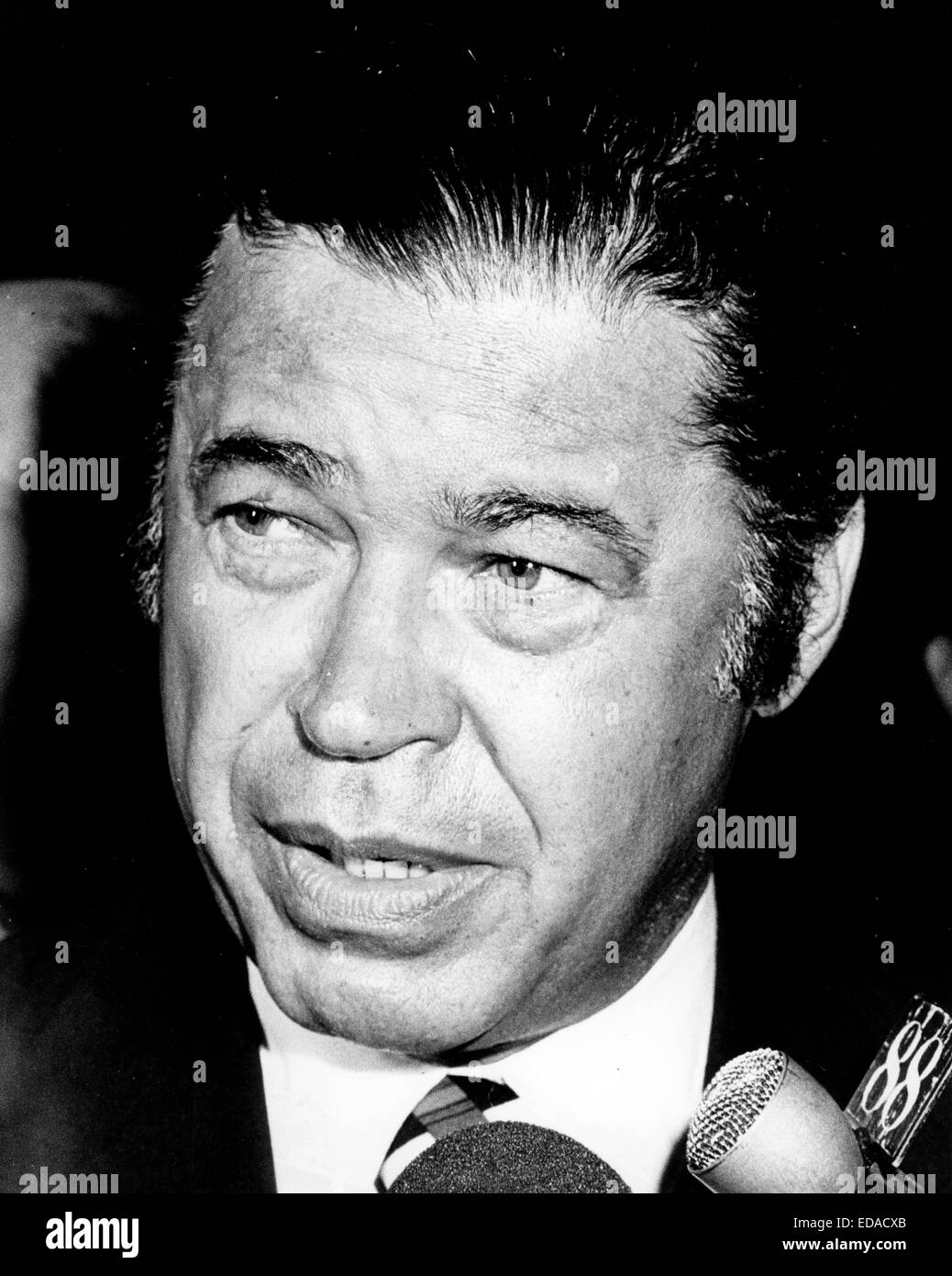 File. 3rd Jan, 2015. Edward W. Brooke (October 26, 1919 Ð January 3, 2015) the Massachusetts Republican who - Stock Image
