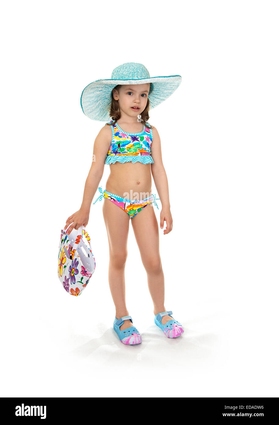 3e5453065 little girl in a beach dress Stock Photo  77062418 - Alamy