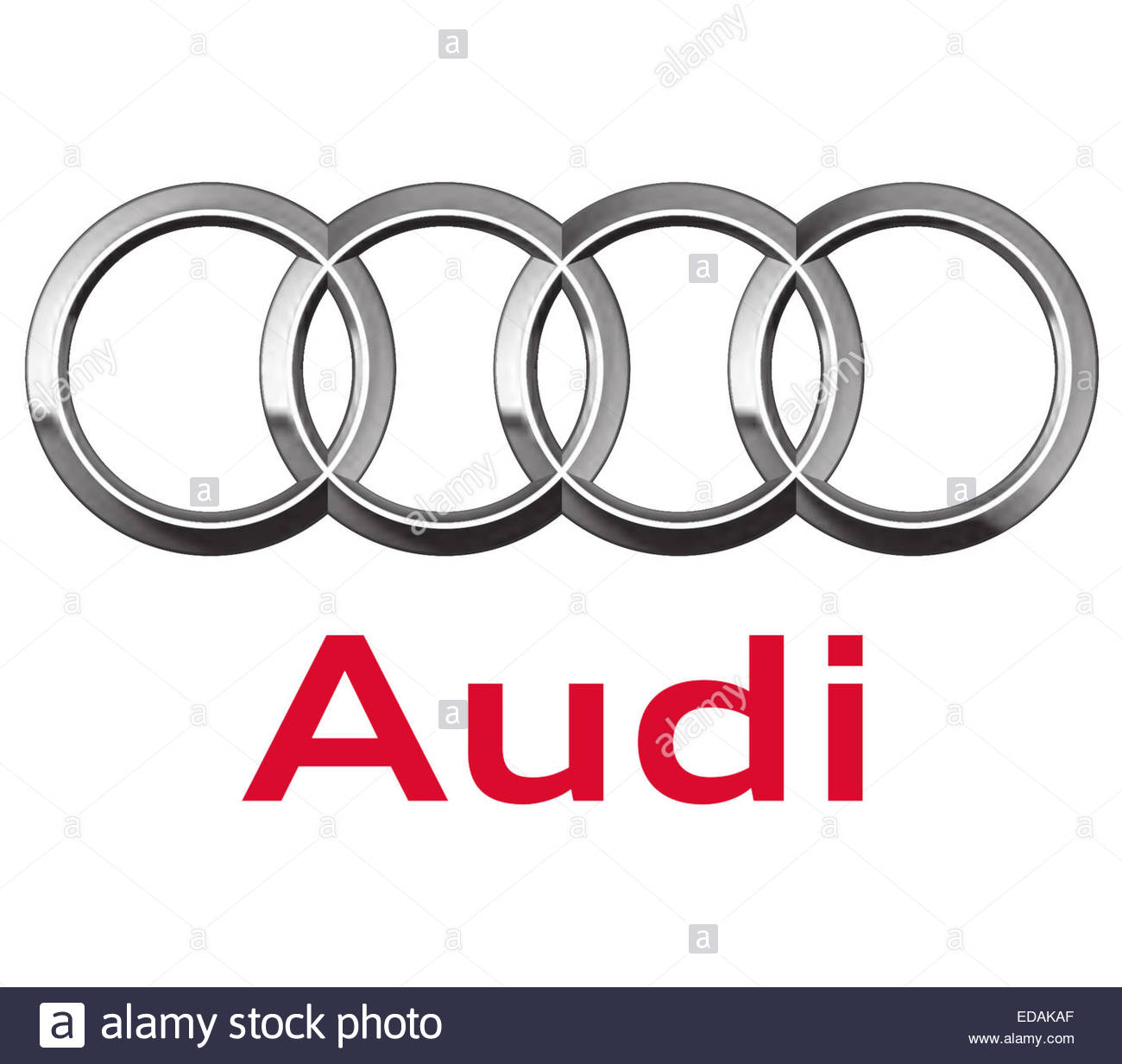 Audi Logo Icon Sign Stock Photo 77066711 Alamy