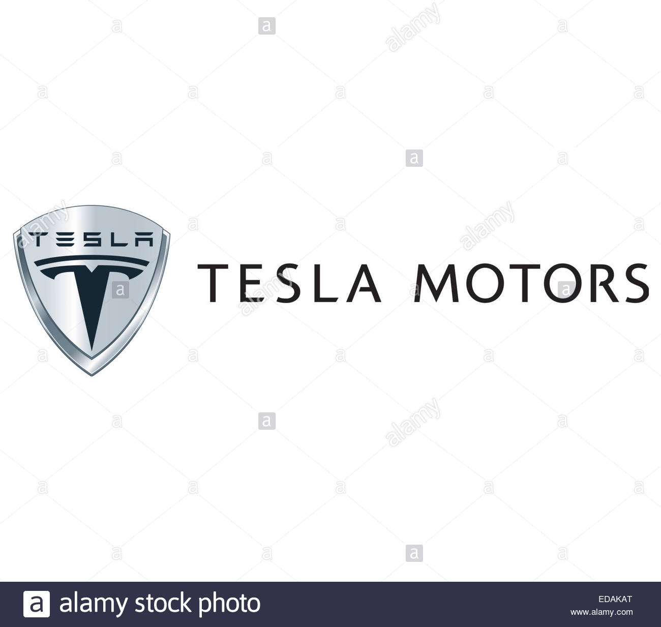 Tesla Logo Icon Sign Stock Photo 77066720 Alamy