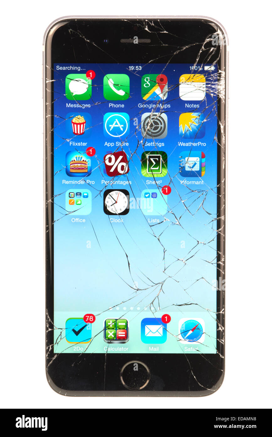 iphone broken screen iphone cut out stock photos amp iphone cut out stock images 11664