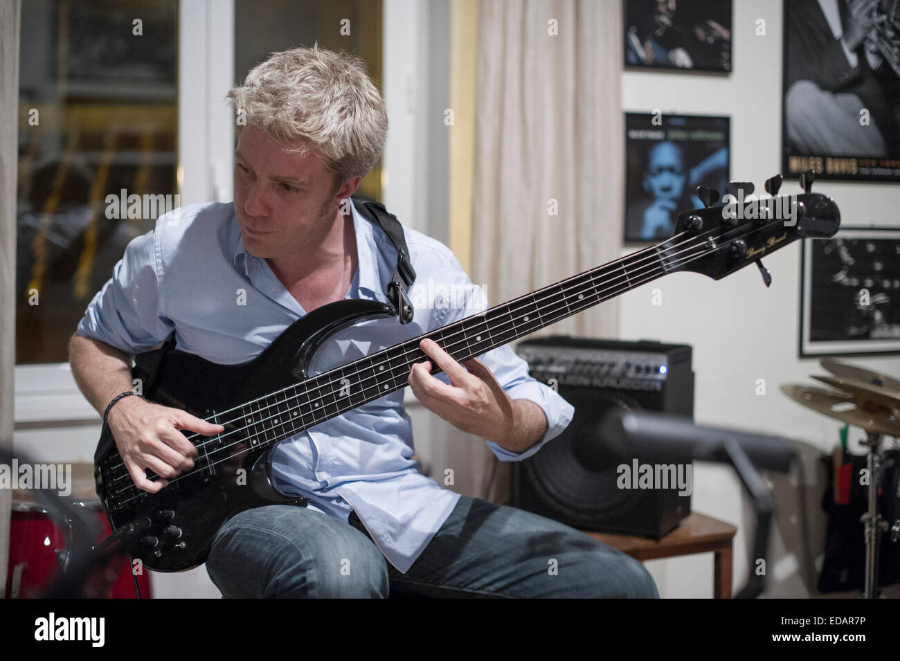 Jazz Bassist/ Composer, actor Kyle Eastwood, Clint Eastwood son - Stock Image