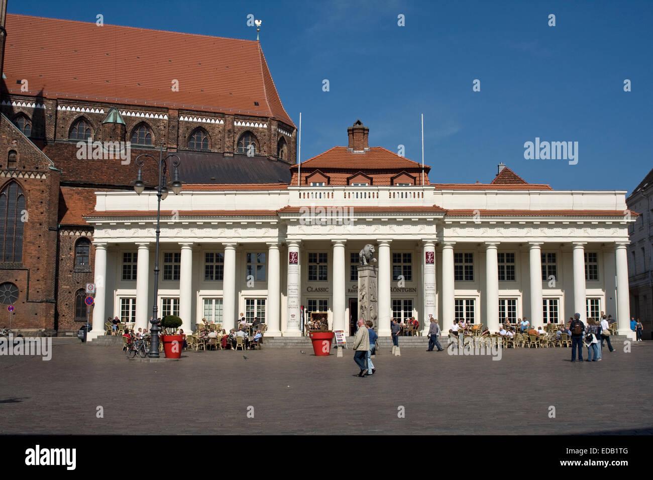 Europa, Deutschland, Mecklenburg-Vorpommern, Schwerin - Stock Image