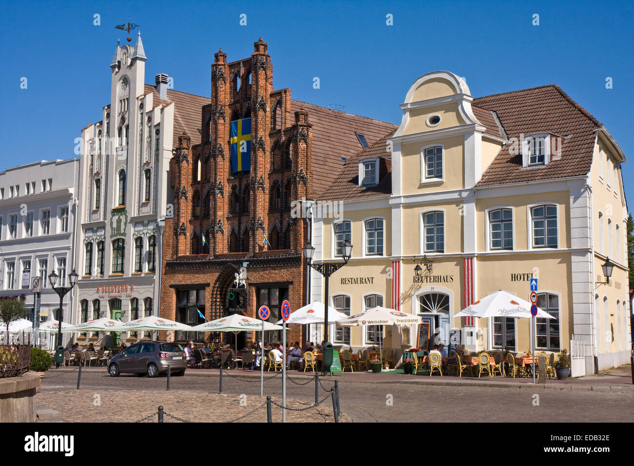 Europe,Germany,  Mecklenburg Western Pomerania, Wismar - Stock Image