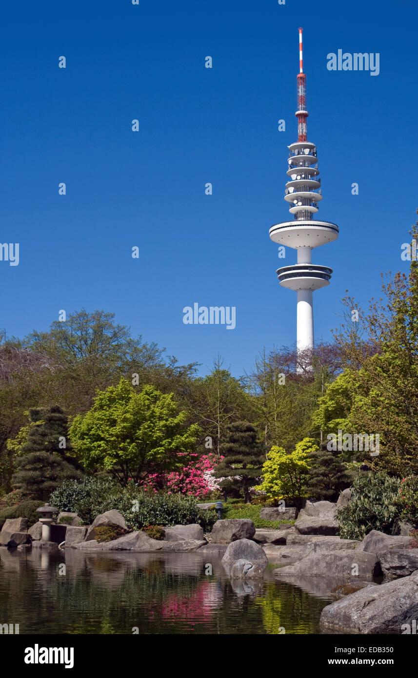 Europa, Deutschland, Hamburg, Heinrich-Hertz-Turm - Stock Image