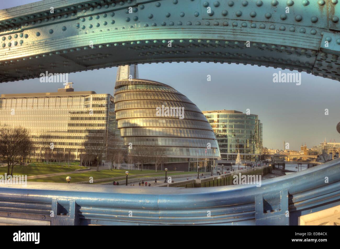 The City Hall London   GLA headquarters - Stock Image