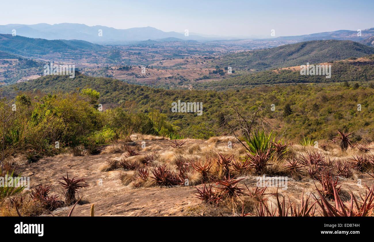 HHOHHO, SWAZILAND, AFRICA - landscape - Stock Image