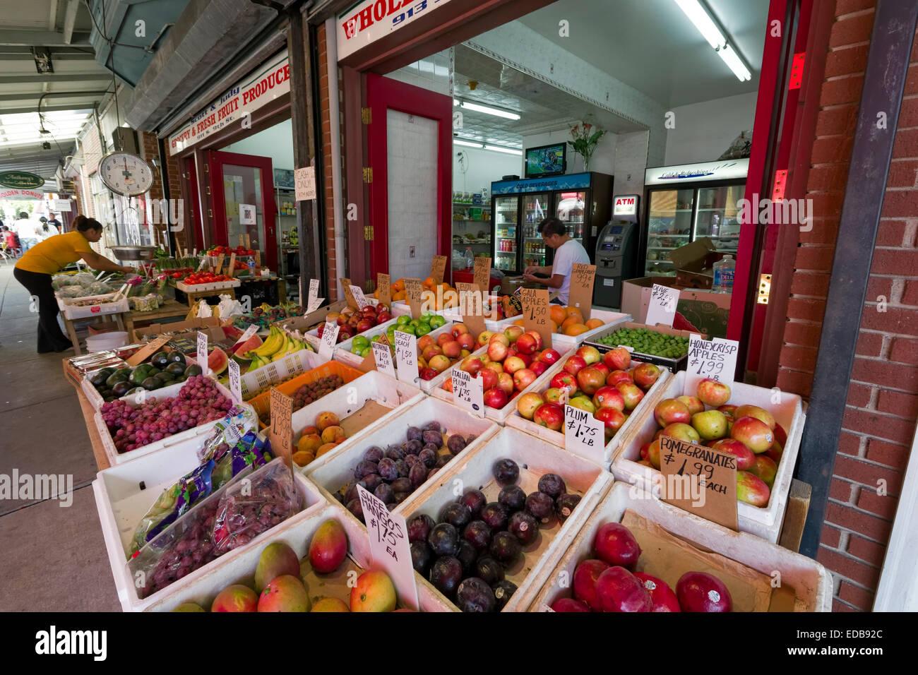 Italian Market, Philadelphia, Pennsylvania - Stock Image