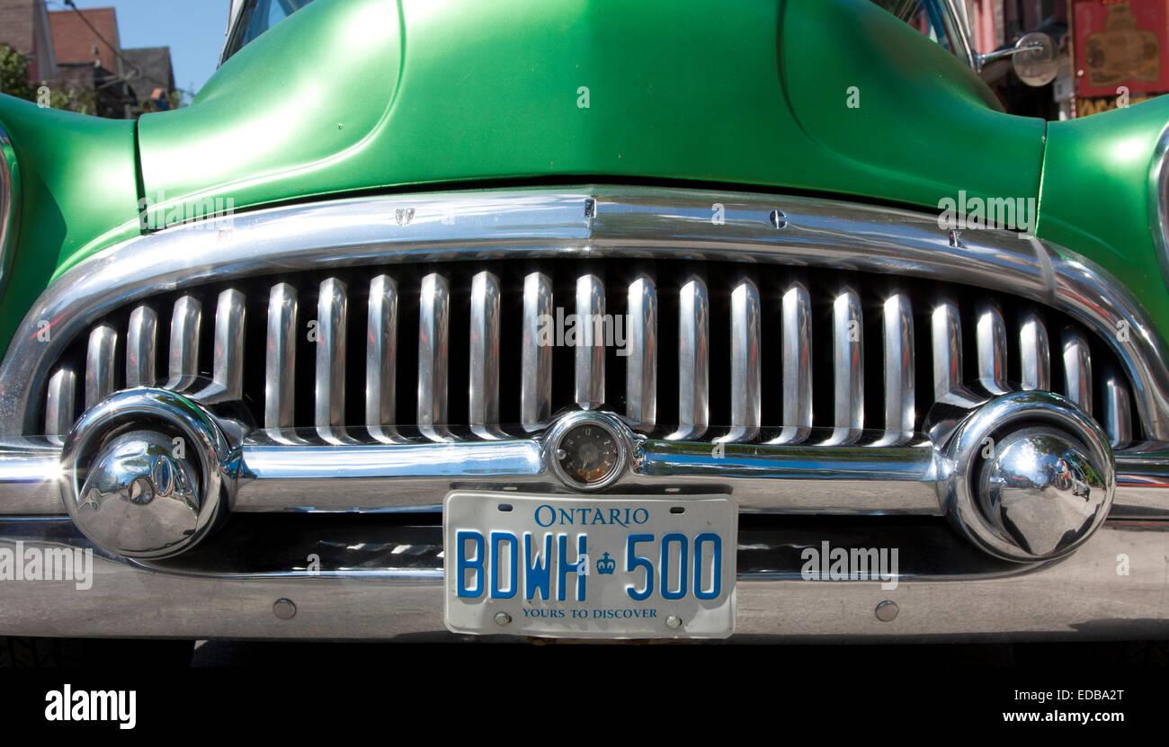 1950s Vintage Buick, Toronto, Canada - Stock Image