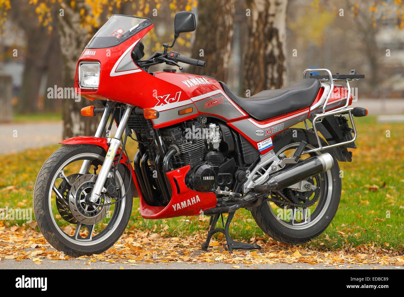 Motorcycle Yamaha XJ 650