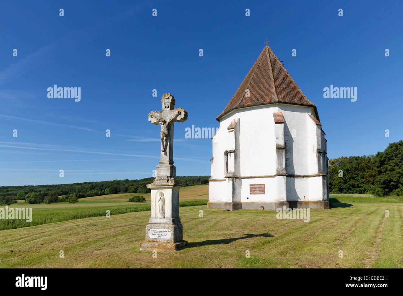 Martin's Church, Deutsch Schützen-Eisenberg, Southern Burgenland, Burgenland, Austria - Stock Image