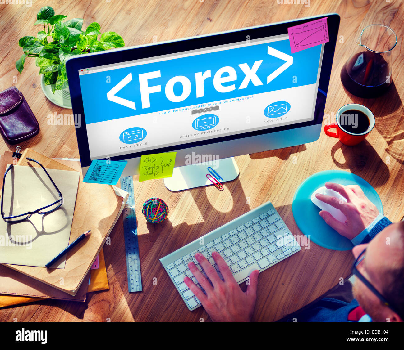Forex Exchange Trade Change Barter Concepts - Stock Image