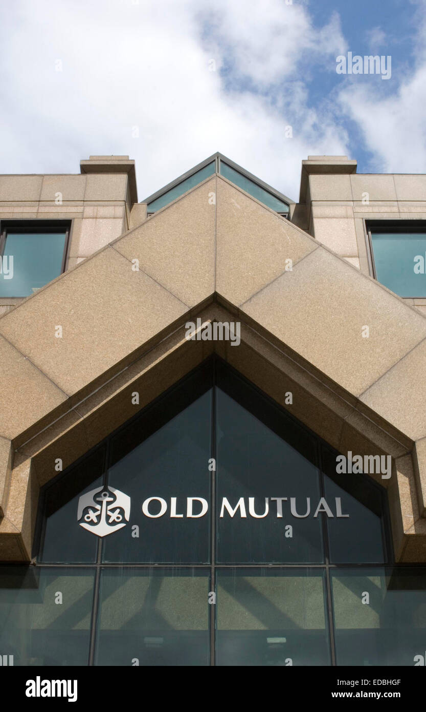 The Old Mutual office in Central London - Stock Image