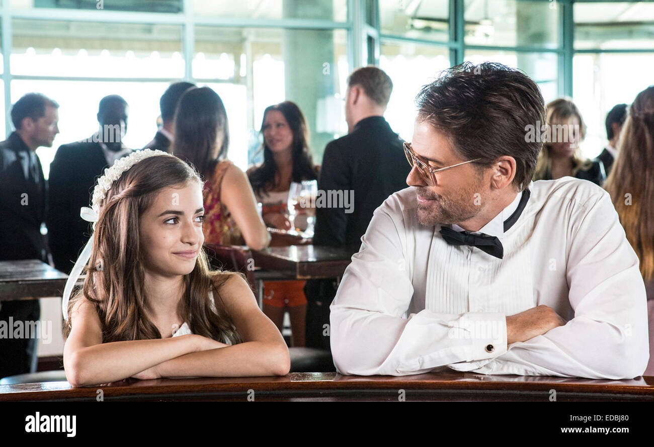 BEAUTIFUL & TWISTED 2015 Lifetime film with Soni Bringas and Rob Lowe - Stock Image