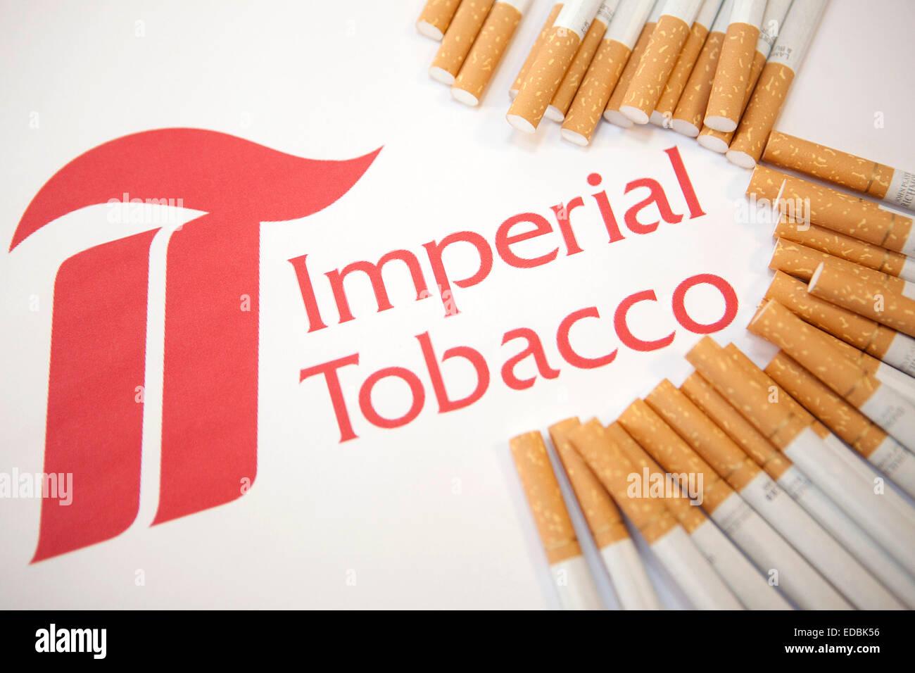 Imperial Tobacco logo and cigarettes Stock Photo  77088514 - Alamy 5f9c379f4de