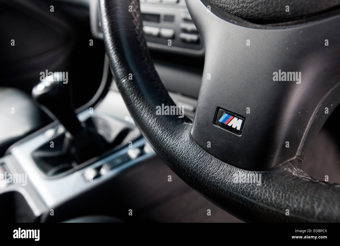 BMW M Sport steering wheel and manual gear stick in an E46 ... - photo#25