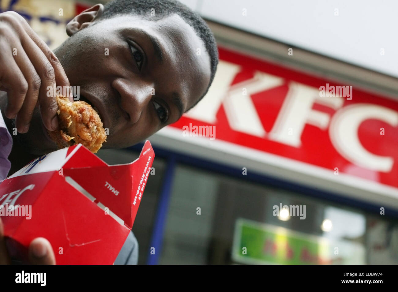Illustrative image of KFC; part of the YUM! Brands group. - Stock Image
