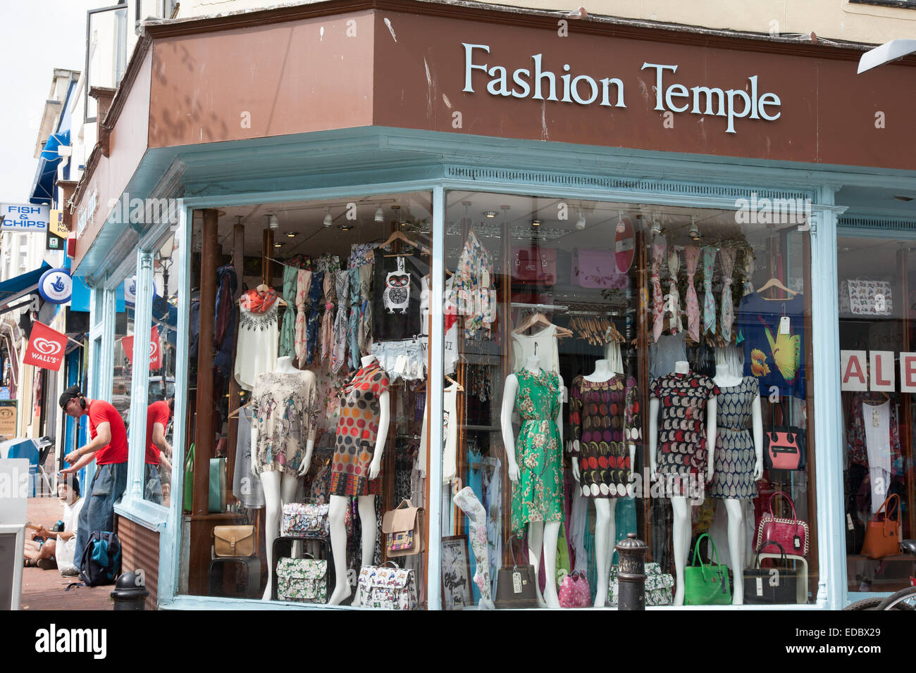 Temple clothing stores