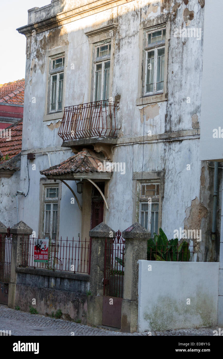 Abandoned house, Portugal - Stock Image