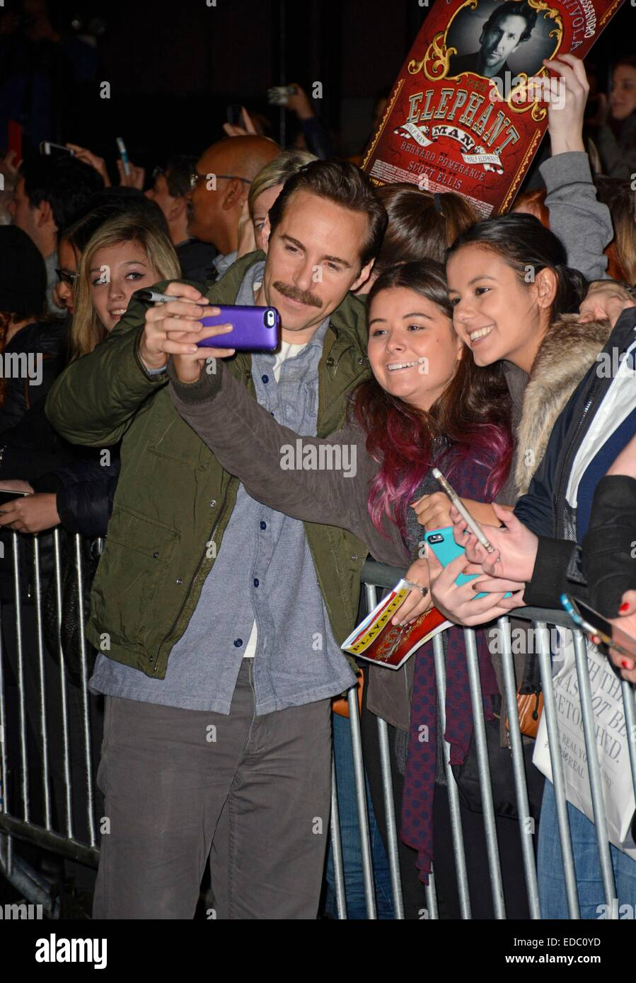 Alessandro Nivola out and about for Celebrity Candids - SUN, , New York, NY January 4, 2015. Photo By: Derek Storm/Everett - Stock Image