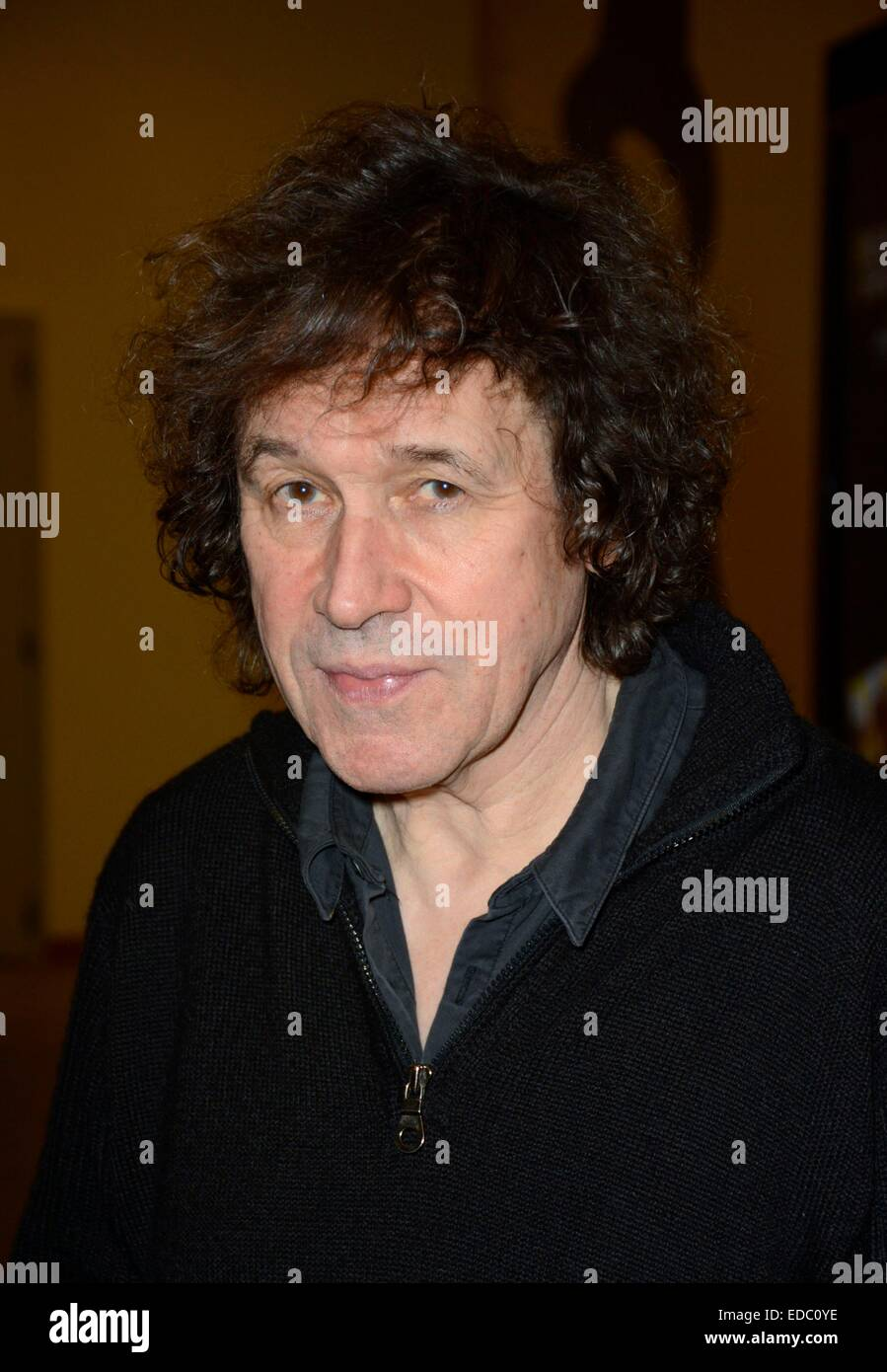 Stephen Rea out and about for Celebrity Candids - SUN, , New York, NY January 4, 2015. Photo By: Derek Storm/Everett - Stock Image
