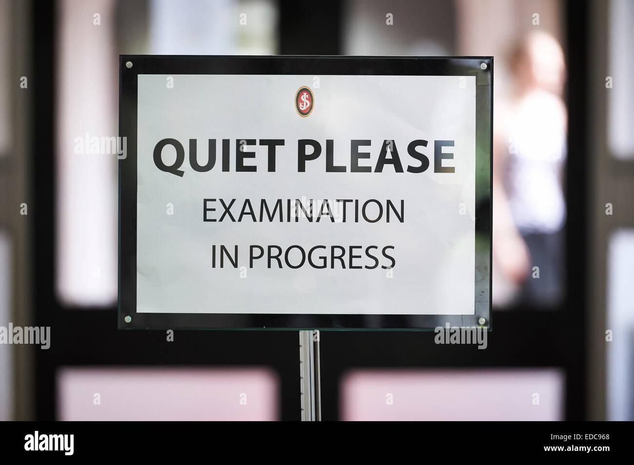 exam - Stock Image