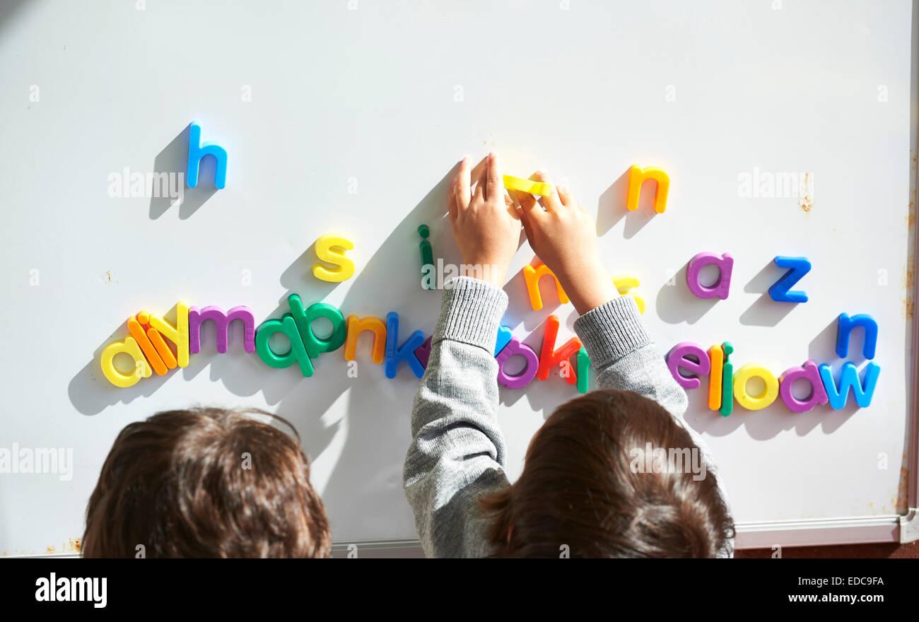 school kids - Stock Image