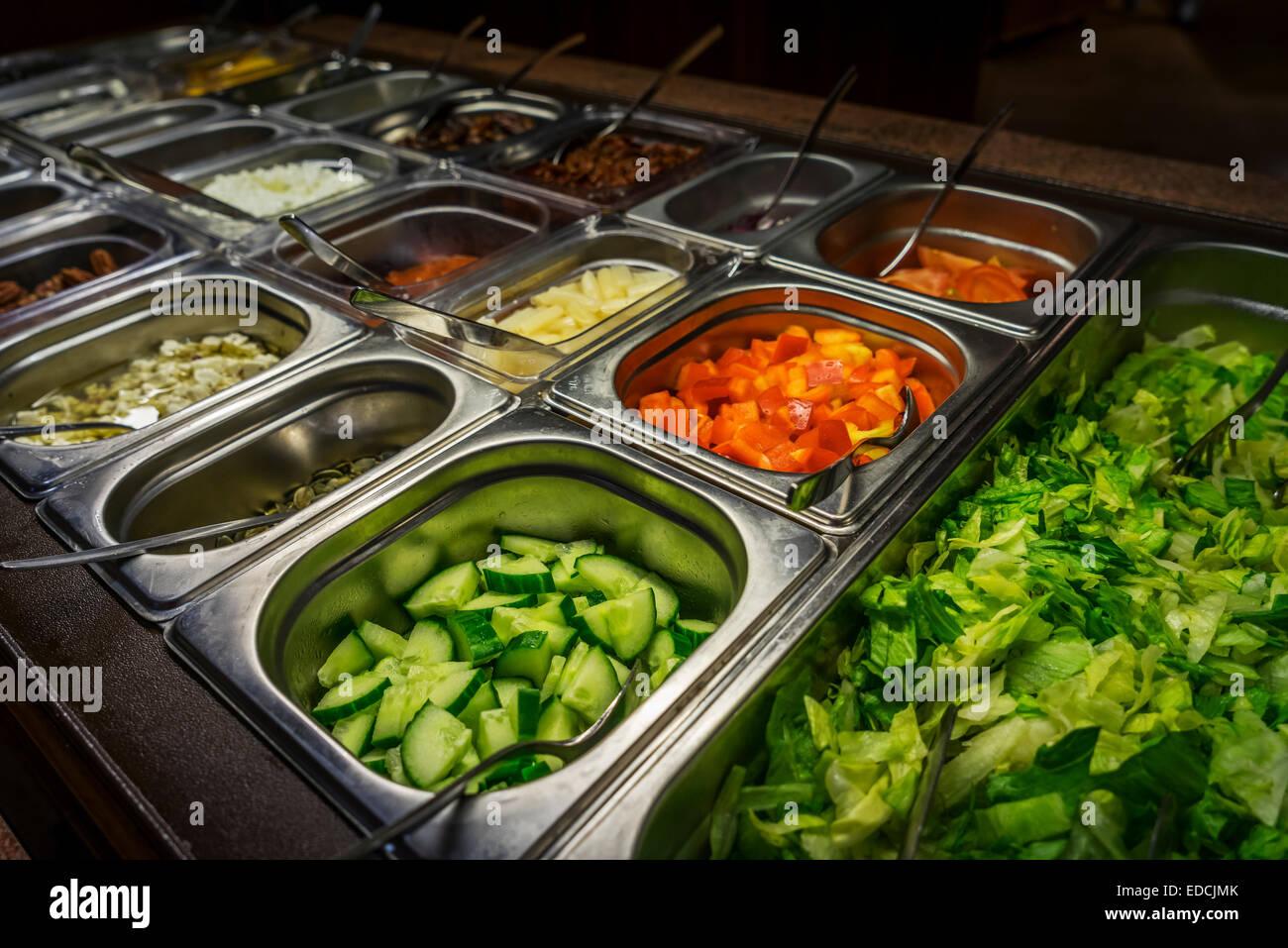 Salad Bar Stock Photos & Salad Bar Stock Images - Alamy