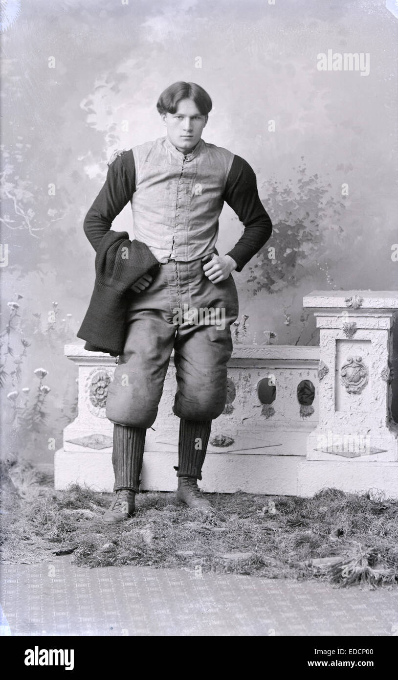 Antique circa 1900 photograph, Princeton University's Ralph Tipton Davis. Ralph Tipton Davis (c. 1880 – May - Stock Image