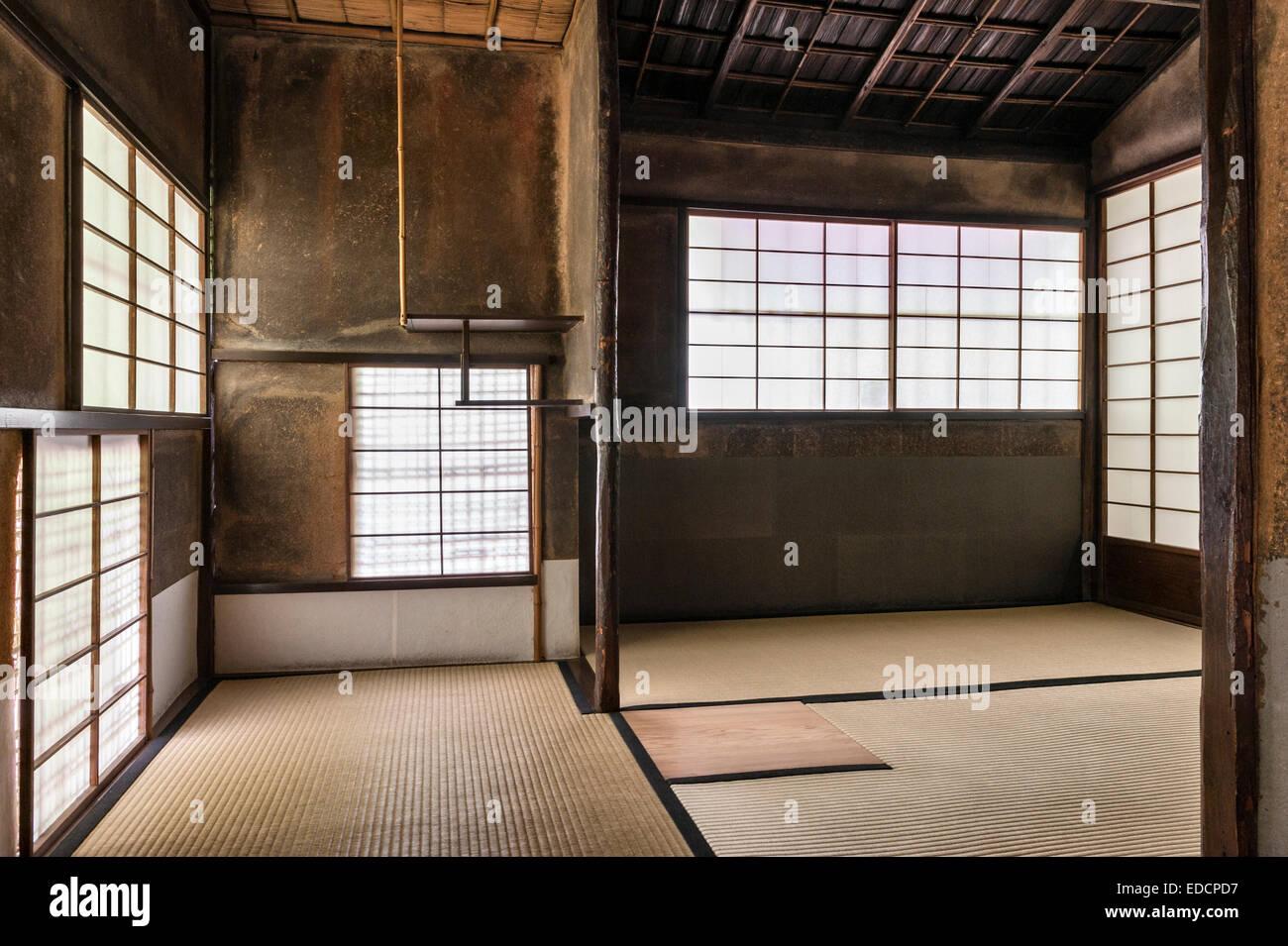 Shinju-an zen temple, Daitoku-ji, Kyoto, Japan. The Tei'gyoku-ken tea room - Stock Image