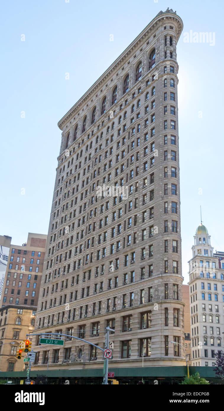 The Flatiron Building, New York City. - Stock Image