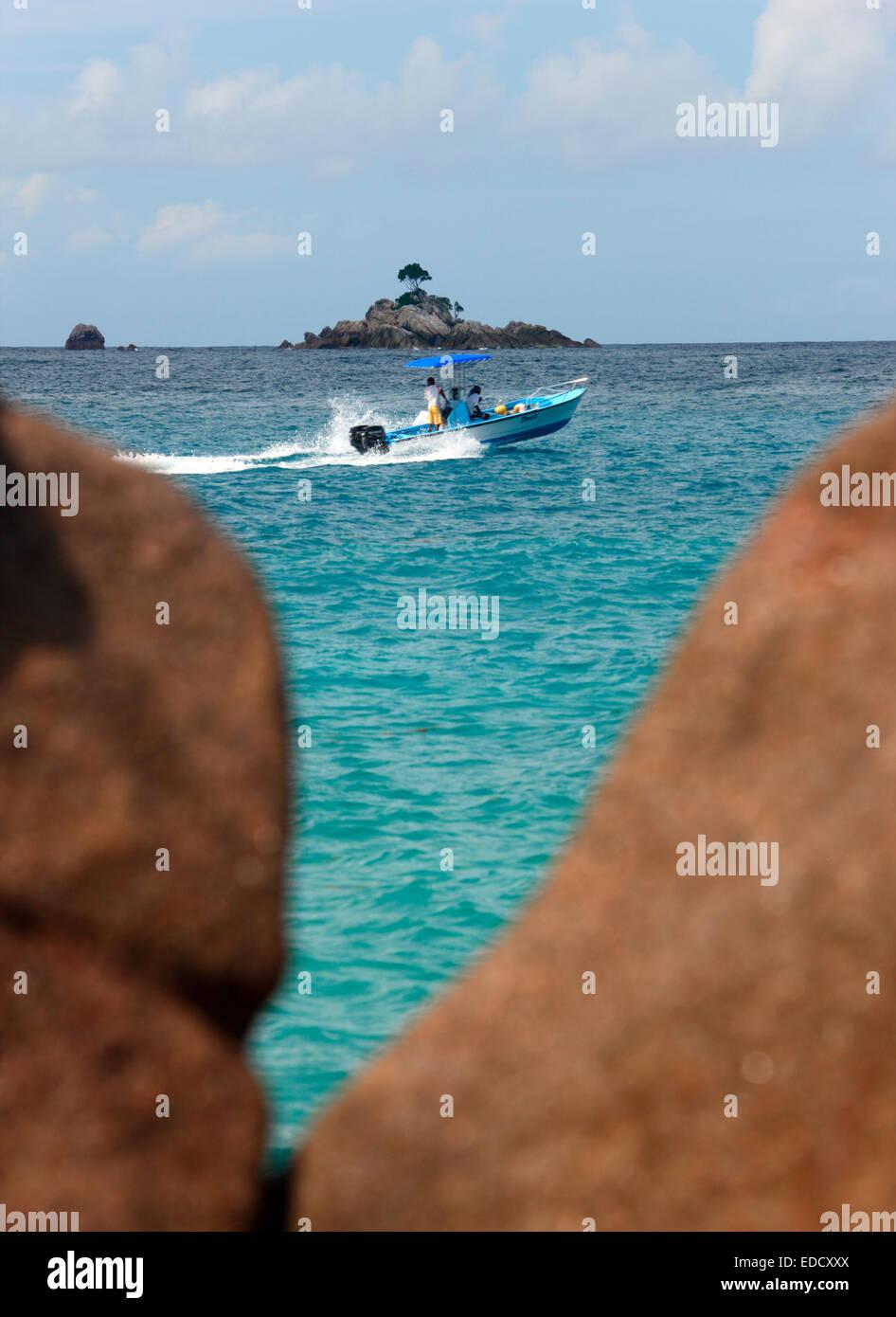 Seychelles island, La Digue - Stock Image
