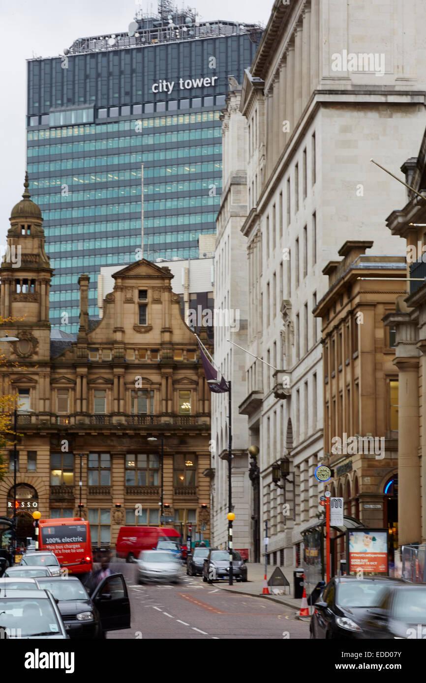 Manchester King Street - Stock Image