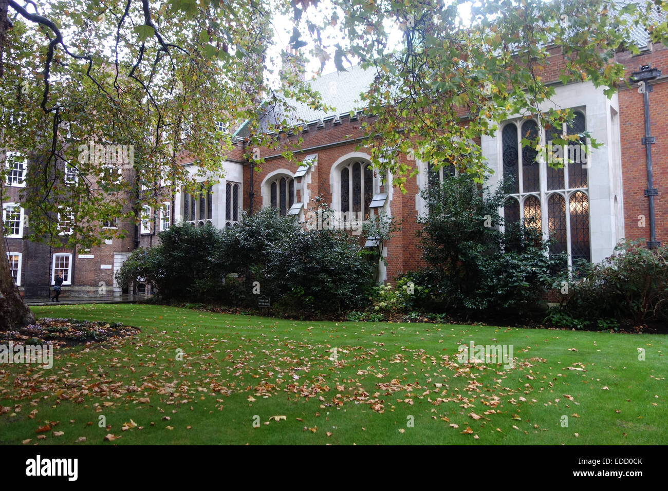 Lincoln's Inn (one of the Inns of court)library, in an ancient building, between Newmans Row, & Chancery lane,  Stock Photo