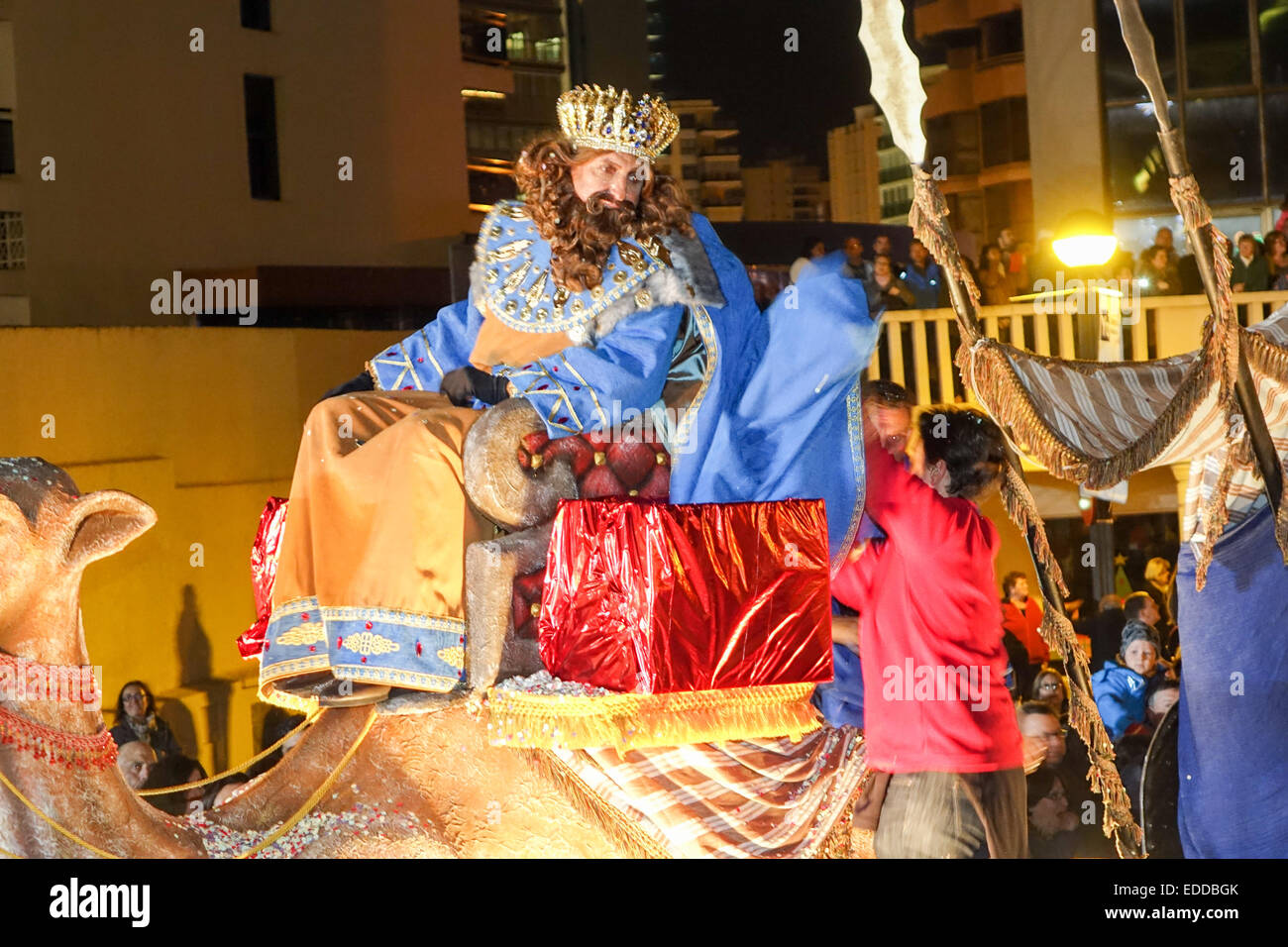 reyes magos celebration