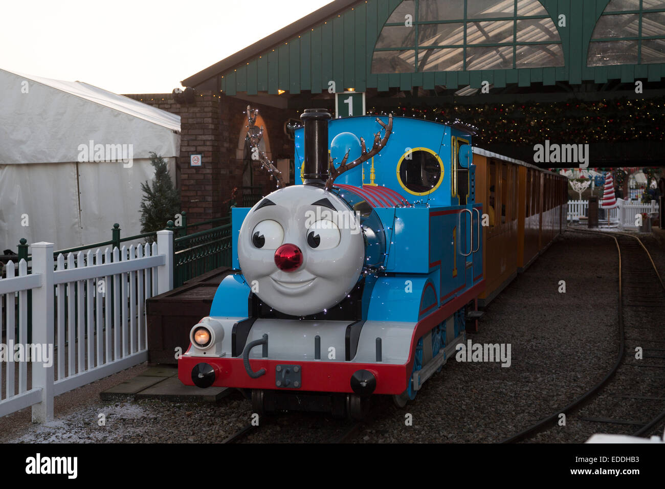 Thomas The Tank Engine At Knapford Station Thomas Land At Drayton