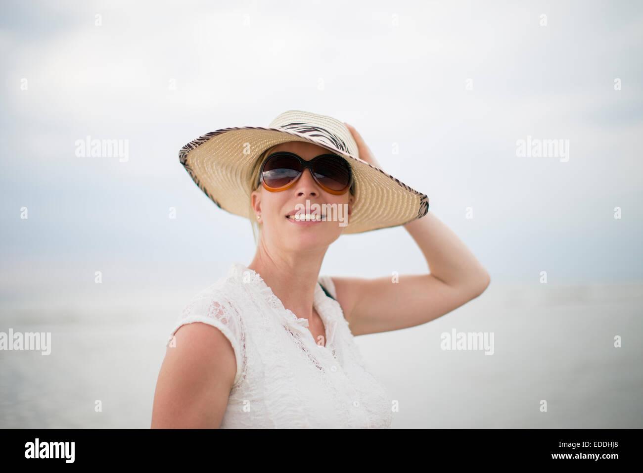 ff21001cc7 County Sunglasses Women Stock Photos   County Sunglasses Women Stock ...