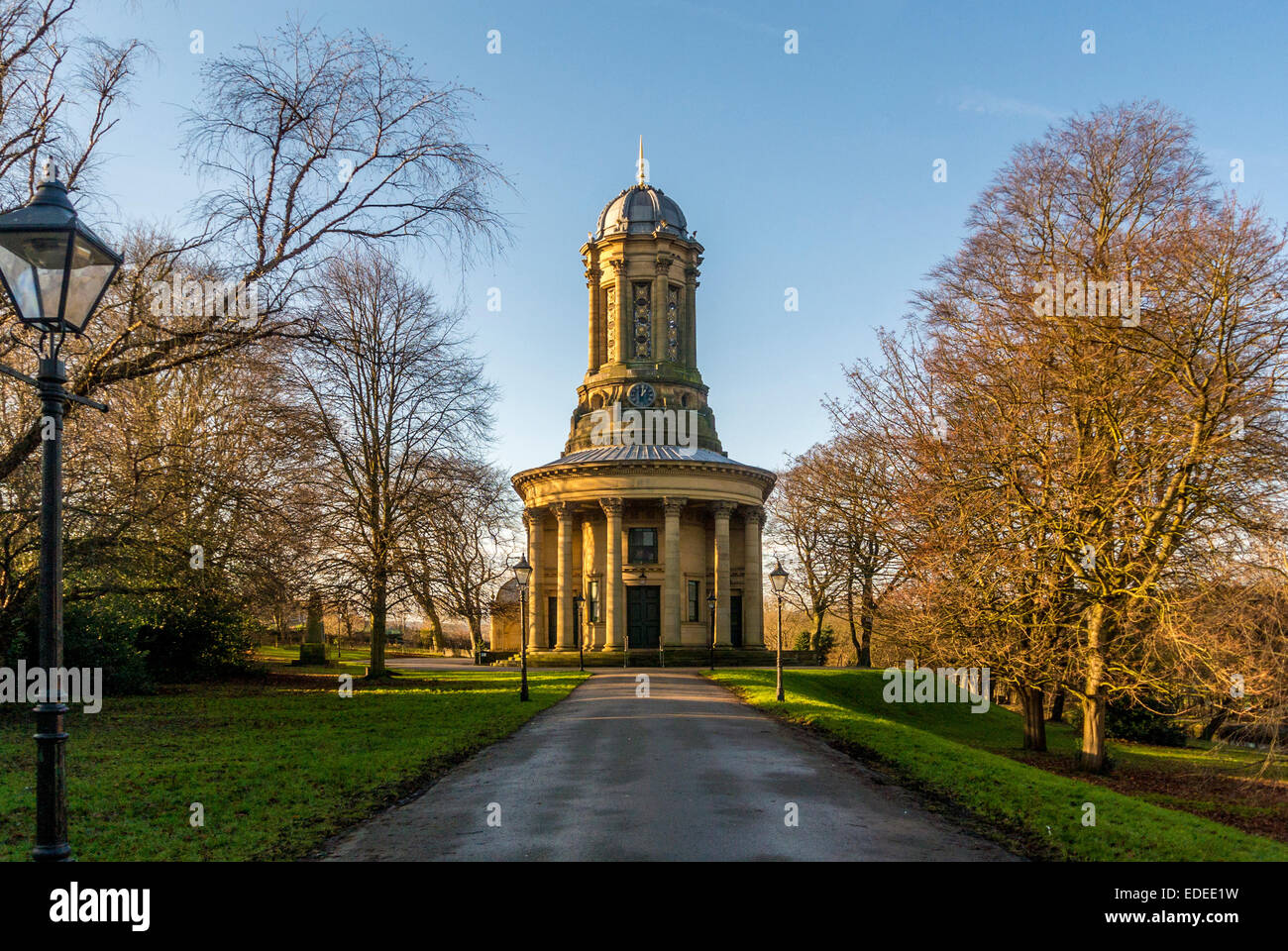 Saltaire United Reformed Church, Saltaire, West Yorkshire, UK. - Stock Image
