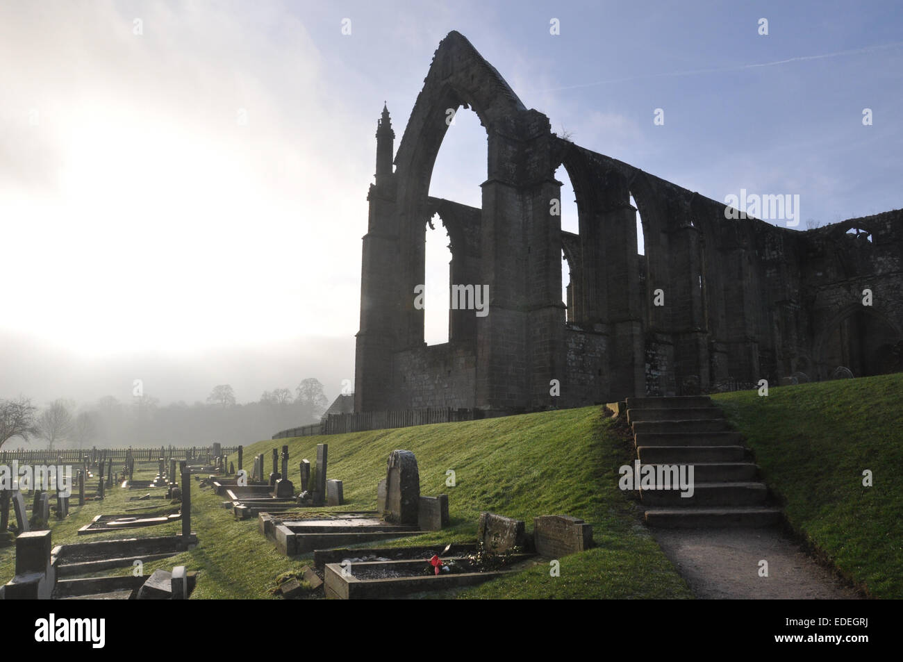 Bolton Abbey, Wharfedale, North Yorkshire Stock Photo