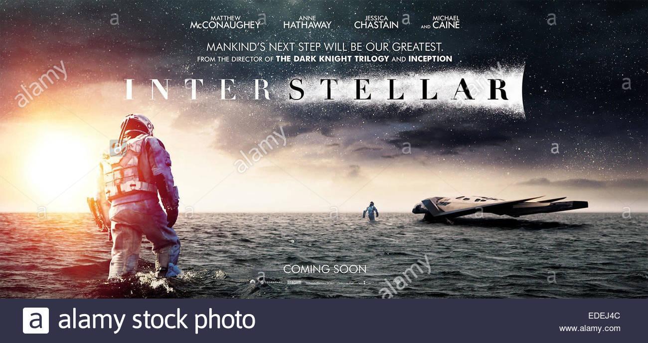 INTERSTELLAR (2014) CHRISTOPHER NOLAN (DIR) MOVIESTORE COLLECTION LTD - Stock Image