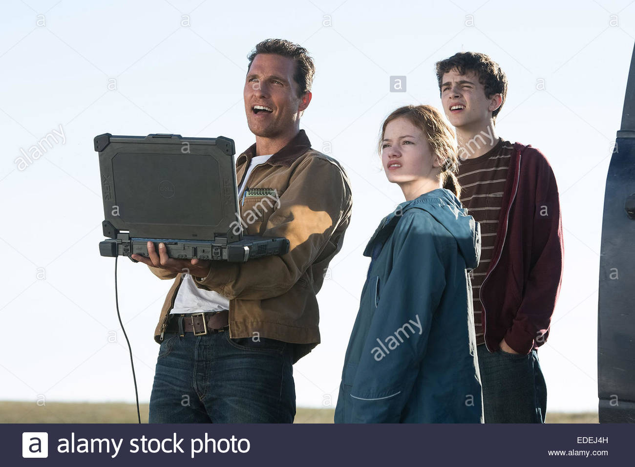 INTERSTELLAR (2014) MATTHEW MCCONAUGHEY, MACKENZIE FOY, TIMOTHEE CHALAMET CHRISTOPHER NOLAN (DIR) MOVIESTORE COLLECTION - Stock Image