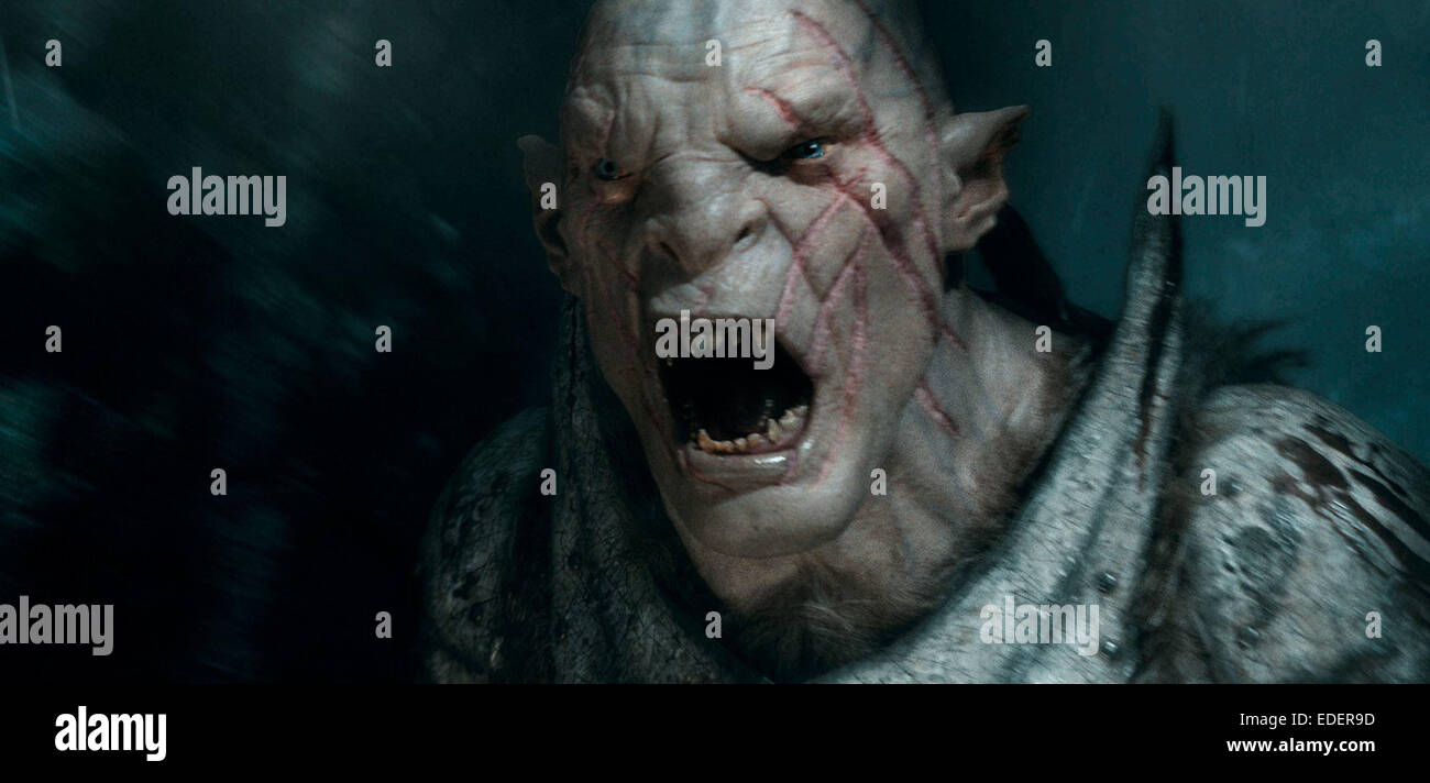 THE HOBBIT: THE BATTLE OF THE FIVE ARMIES (2014) PETER JACKSON (DIR) MOVIESTORE COLLECTION LTD - Stock Image