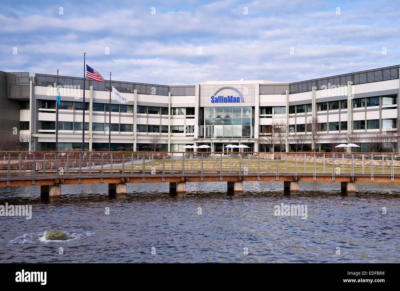 Sallie Mae headquarters building in Newark Delaware Stock ...