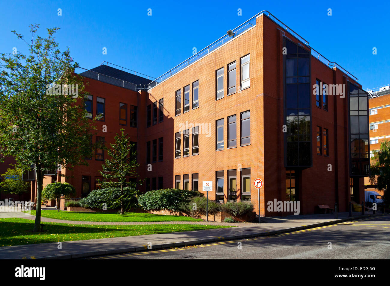 The Leeds Teaching Hospitals NHS Trust hospital building in Leeds West Yorkshire England UK - Stock Image