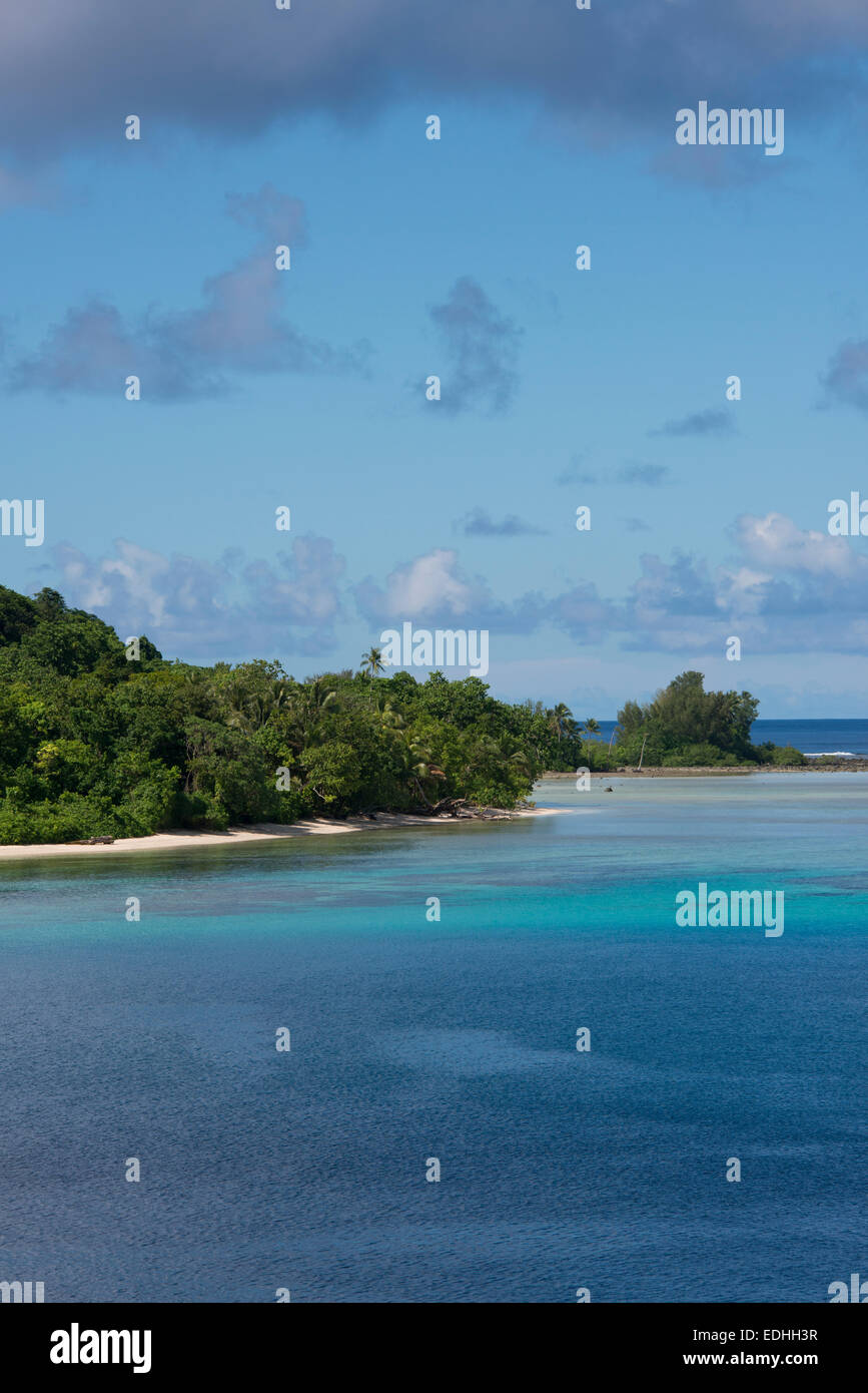 Melanesia, Makira-Ulawa Province, Solomon Islands, island of Owaraha or Owa Raha (formerly known as Santa Ana). - Stock Image