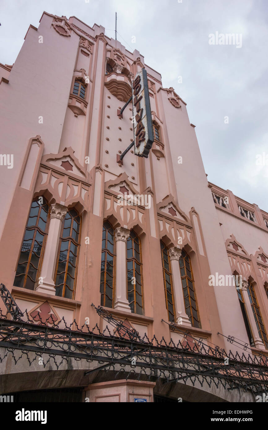 Bolivar Theatre, Art Nouveau style, Quito, Pichincha Province, Ecuador - Stock Image