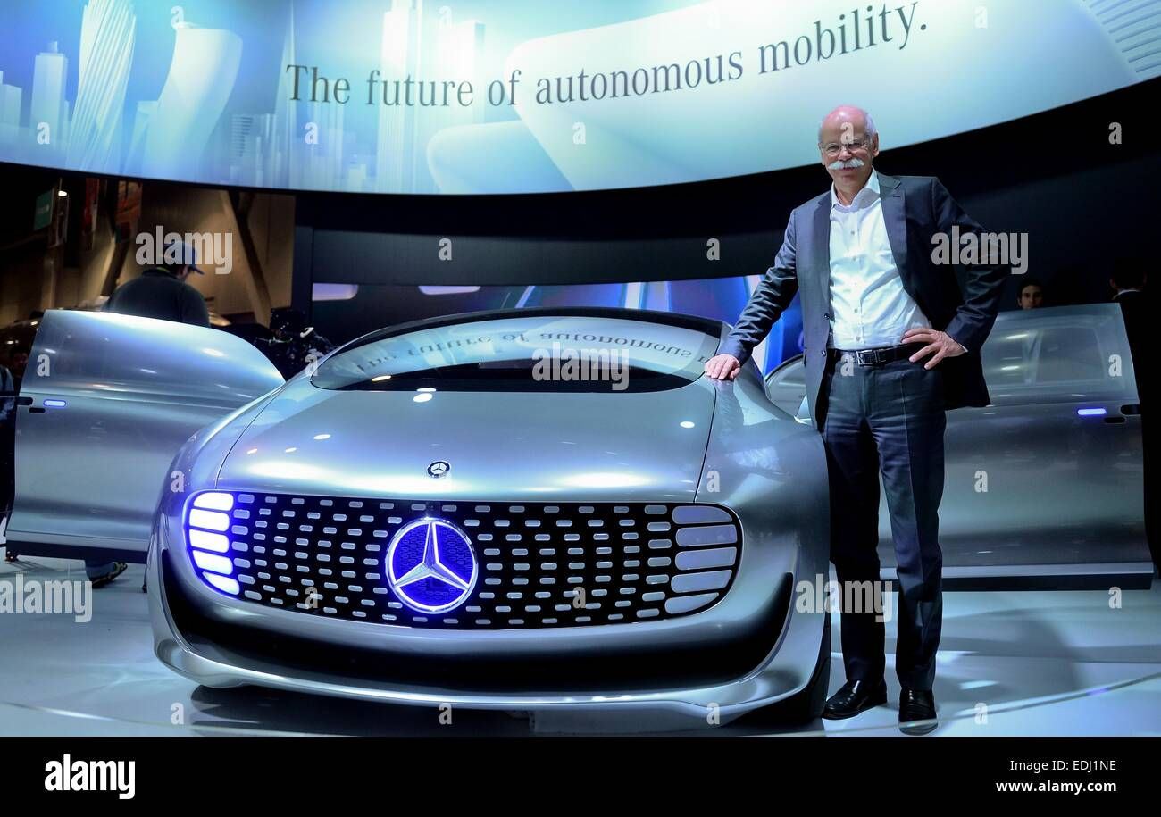 Mercedes Benz Las Vegas >> Las Vegas Nevada Usa 06th Jan 2015 Head Of Car Manufacturer